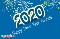 Happy New Year 2020 Friends
