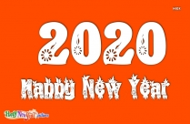 Image Of Happy New Year 2020