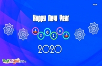 Happy New Year 2020 Advance