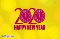 Happy New Year 2020 Buddies