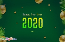 Happy New Year 2020 Transparent