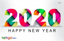 Happy New Year 2020 Transparent Background