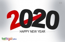 Happy New Year 2020 Free Image