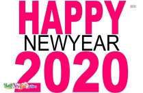 Happy New Year Photo Frame 2020