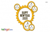 Happy New Year 2020 Logo