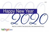 Happy New Year 2020 Whatsapp