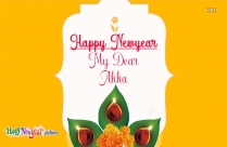 Happy New Year To Sister