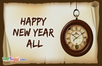 Happy New Year Ahead