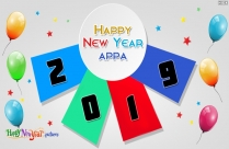 Happy New Year Appa Image