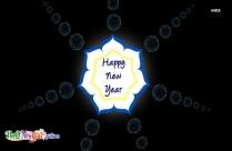 Creative  Happy New Year Greeting
