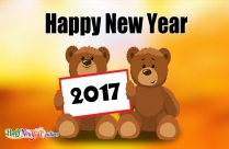 Happy New Year Cute