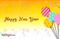 Happy New Year Facebook Greetings