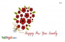 Happy New Year Family Image