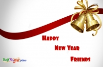 Happy New Year Friends