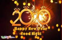 Happy New Year Good Night Picture