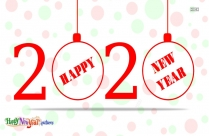 Happy New Year In Advance 2020