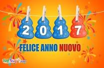 Happy New Year Italian