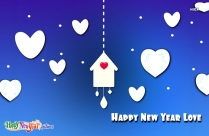 Happy New Year Love Hd Wallpaper