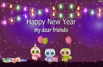Happy New Year My All Friends