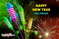 Happy New Year My Cousin