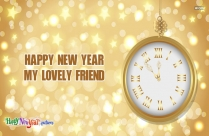 Happy New Year Best Friend