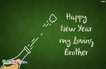 Happy New Year My Loving Brother