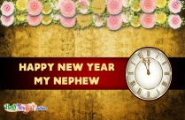 Happy New Year Nephew Images