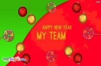 Happy New Year My Team