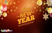 Happy New Year My Wellwishers