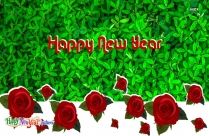 Happy New Year Rose
