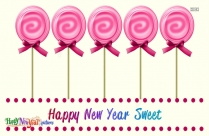 Happy New Year Sweet Greeting