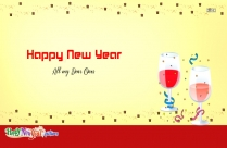 Happy New Year To All My Dear Ones Image