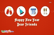 Happy New Year To Friends