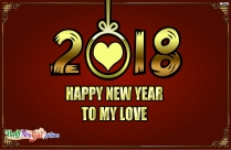 Happy New Year To My Love