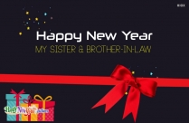 Happy New Year To My Sister And Brother In Law