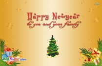 Happy New Year To You And Family