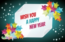 Happy New Year Wish