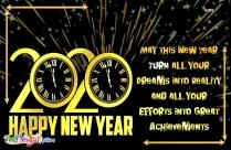 Happy New Year Dear All