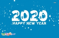 Happy Newyear 2020 Wallpaper