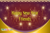 Happy New Year Wishes For Best Friends