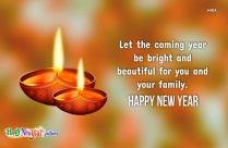 Happy New Year Wishes To Family