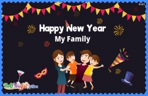 Happy New Year Wishes With Family
