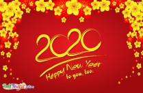 New Year Celebration Greetings