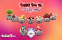 Happy Nowruz To All My Friends