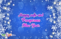 Happy Safe And Prosperous New Year Image