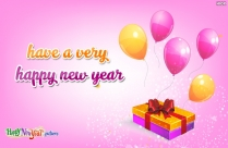 Have A Very Happy New Year