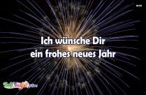 Ich Wünsche Dir Ein Frohes Neues Jahr