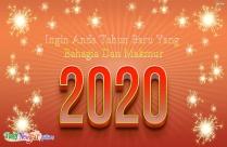 Happy New Year Malay