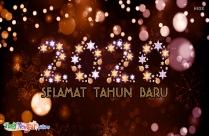Cheerful Happy New Year Malay