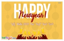 Happy New Year 2020 Ka Photo
